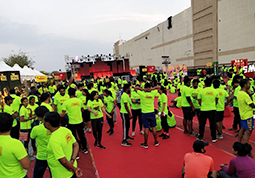 Proud Healthcare and Medical partner for the Mirchi Neon Run 2019.