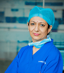 Dr. Prabha Ramakrishna - Gynaec Surgeon in Bangalore