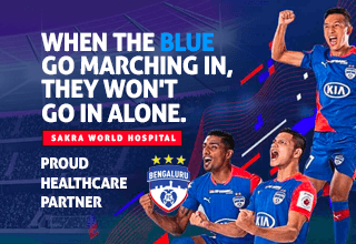 When the Blues go marching in, they won't go in alone - Sakra World Hospital