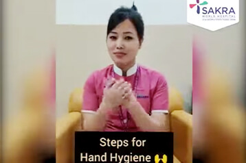 hand hygiene steps to be followed