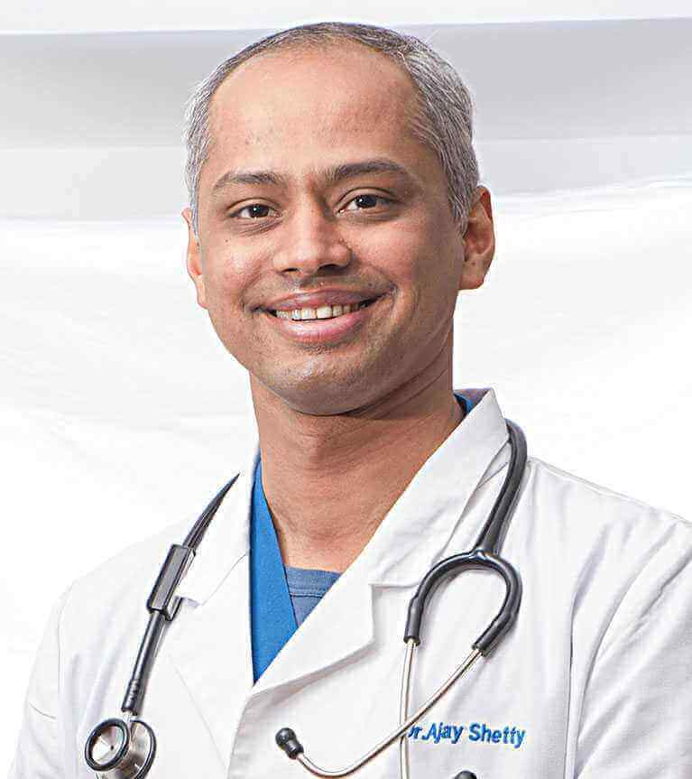Dr. Ajay Shetty - Best Urologist at Sakra World Hospital