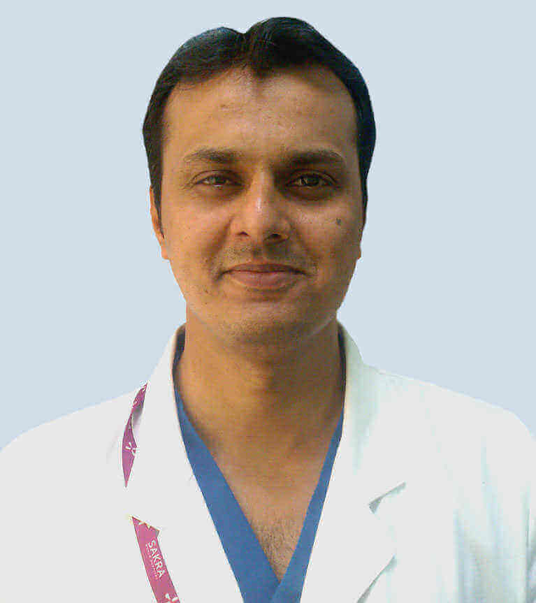 Dr. Sandeep Suresh Patil - Best Eye Doctor in Bangalore at Sakra Hospital