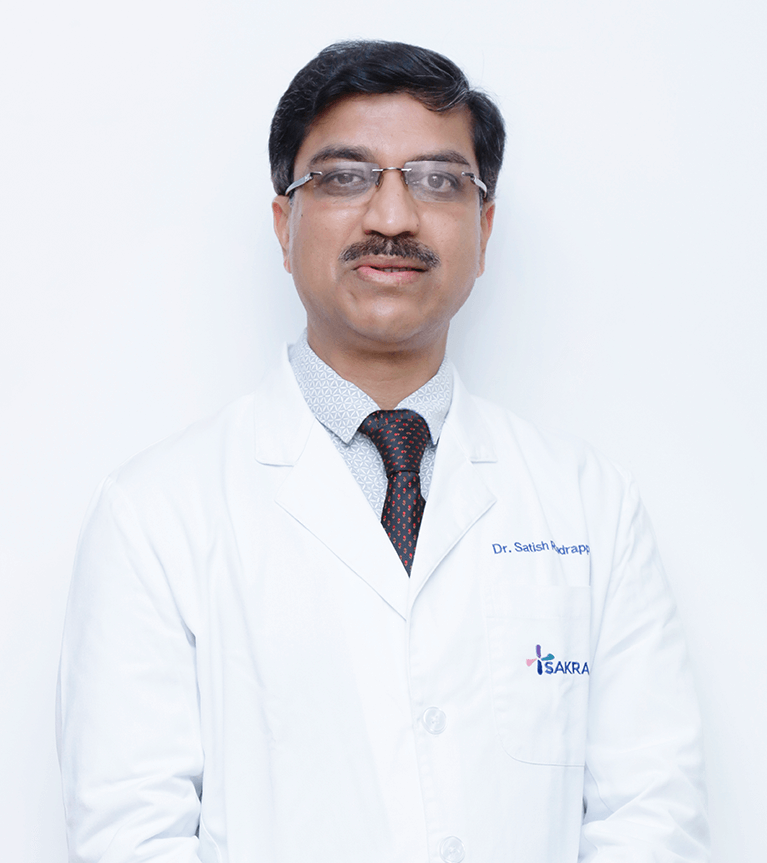 Best Neurosurgeon at Sakra World Hospital - Dr. Satish Rudrappa