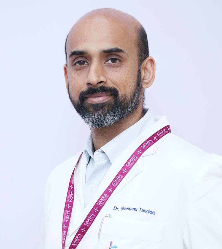 Dr. Shantanu Tandon - Specialized in Sinus Surgery at Sakra Hospital Bangalore