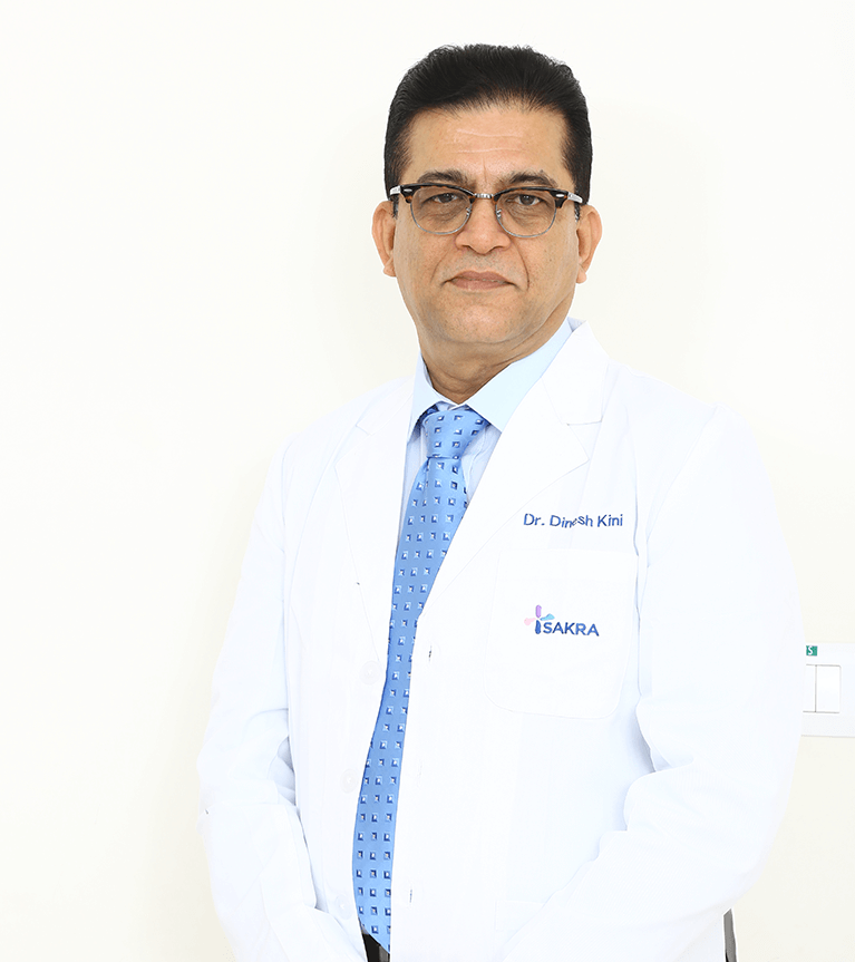 Dr. Dinesh Kini - Best Gastroenterologist in Bangalore