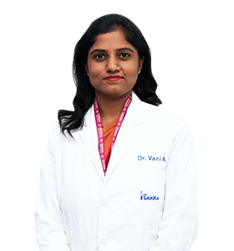 Dr.Vani Ayyasamy - Department of Obstetrics and Gynecology Sakra