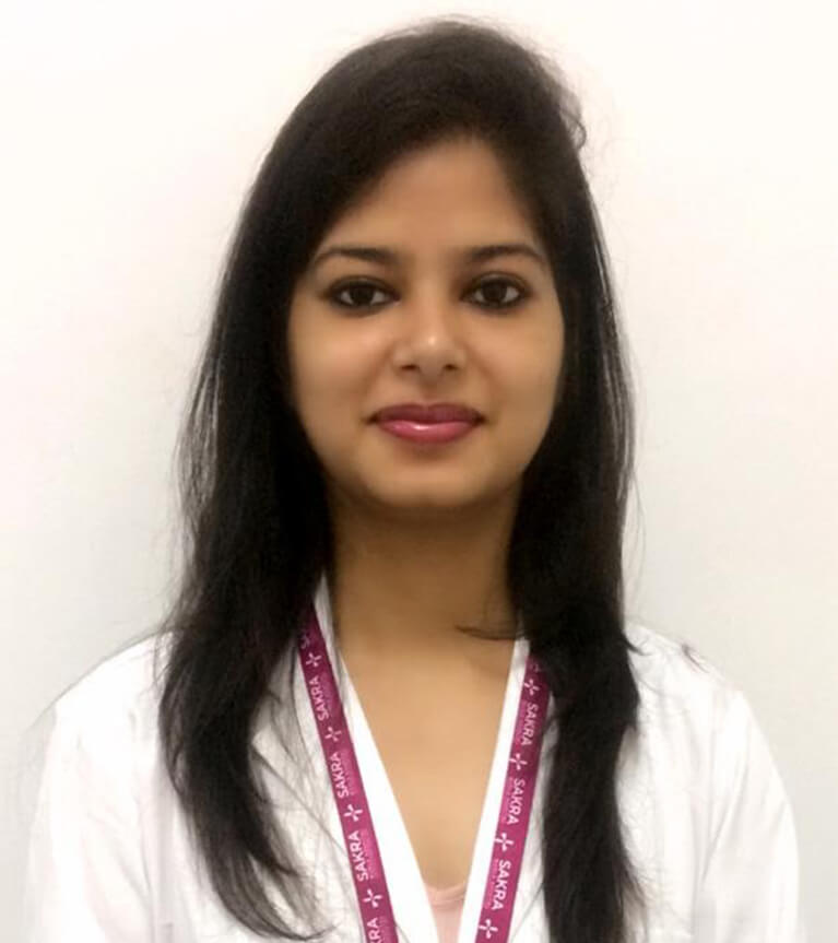 Dr. Esha Singh - Best dental surgeon at sakra hospital Bangalore