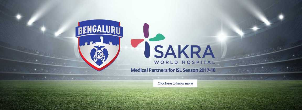 Sakra Medical Partners of BFC for the ISL 2017-18 Season