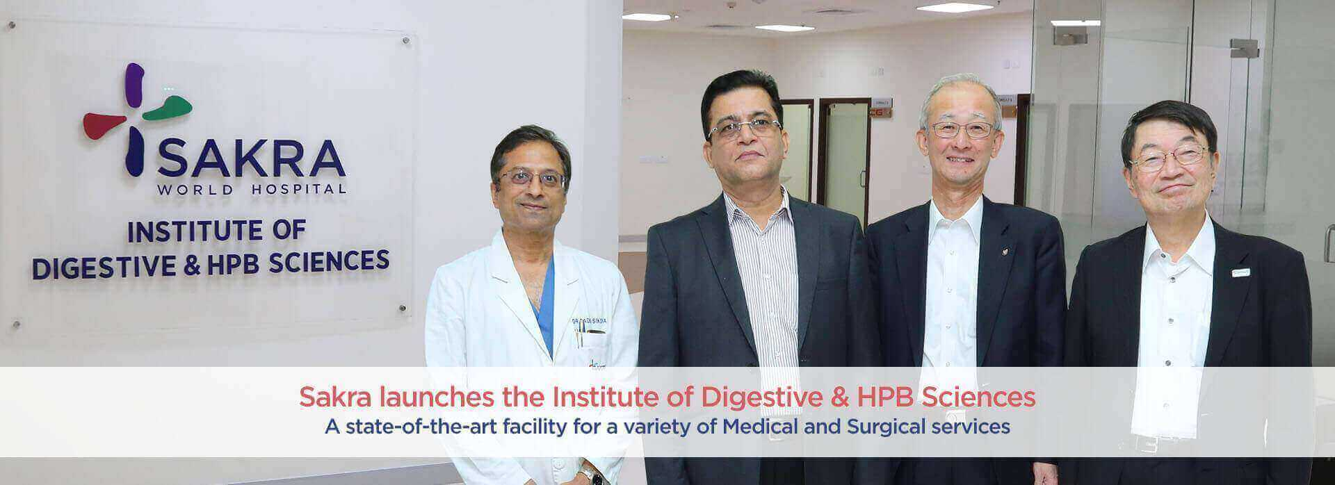 Sakra Launches the Institute of Digestive and HPB Science